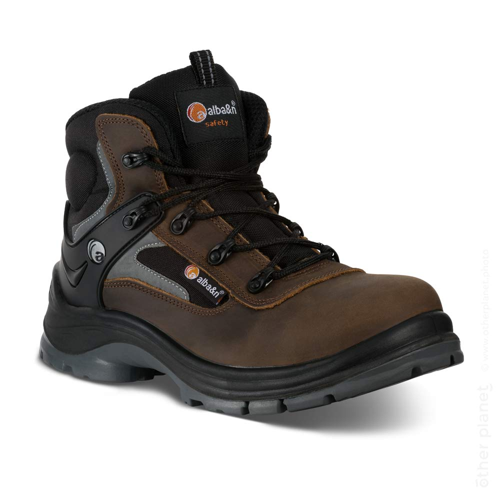 Alba&n safety leather boots