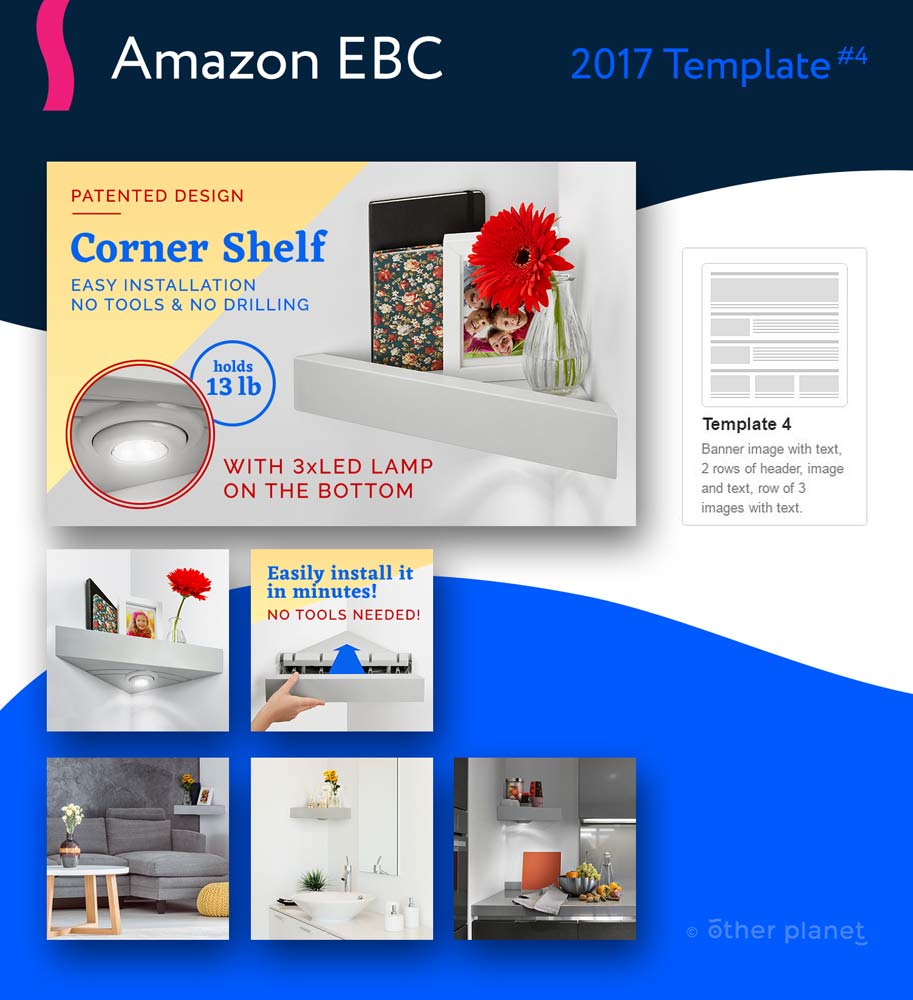 Amazon EBC images for Corner Shelf