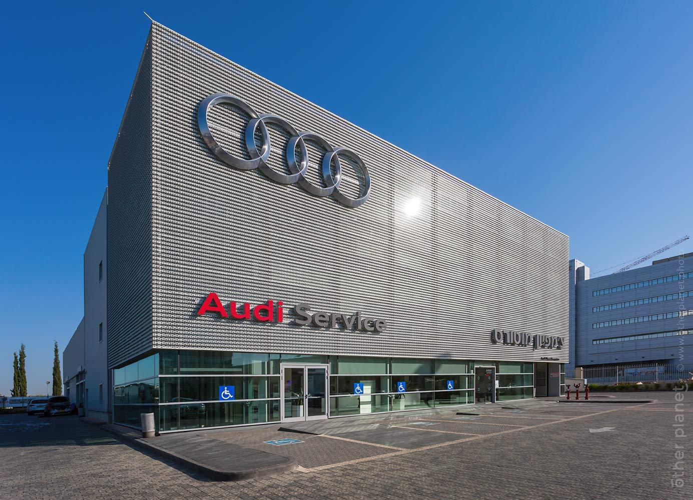 Audi service center exterior
