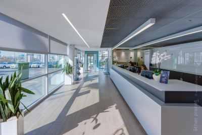 Audi service center reception