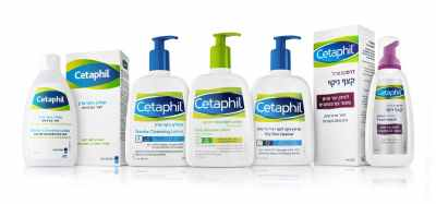 Cetaphil treatment cosmetic products line