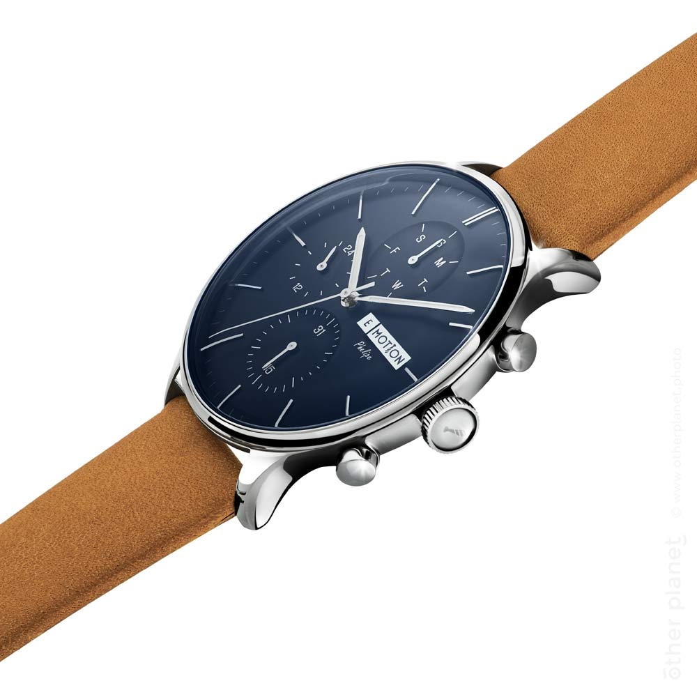 E-motion blue men watch