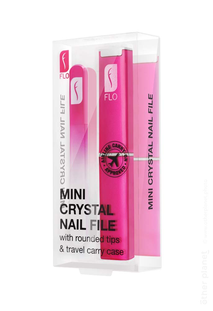 FLO mini crystal nail file packshot