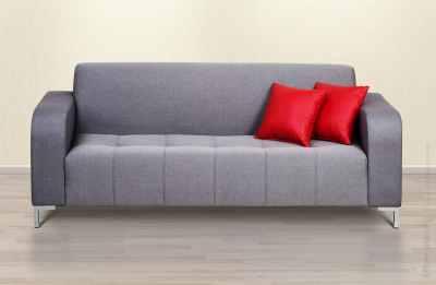 Grey sofa packshot