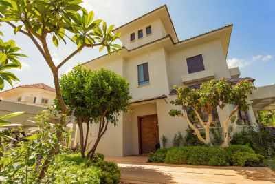 House exterior architecture photo of private villa