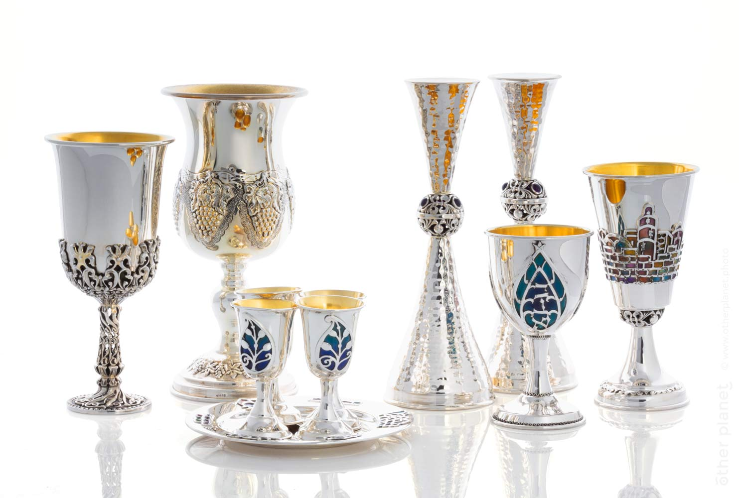 Judaica set composition
