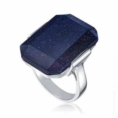 Night sky stone fashion ring