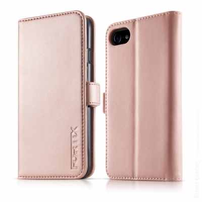 Rose gold colored case for smartphone packshot