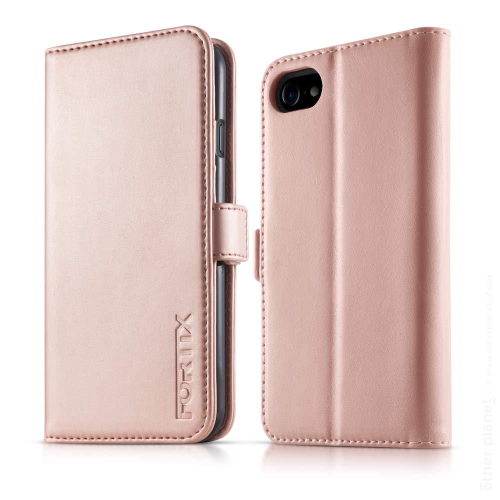 Rose gold colored case for smartphone packshot