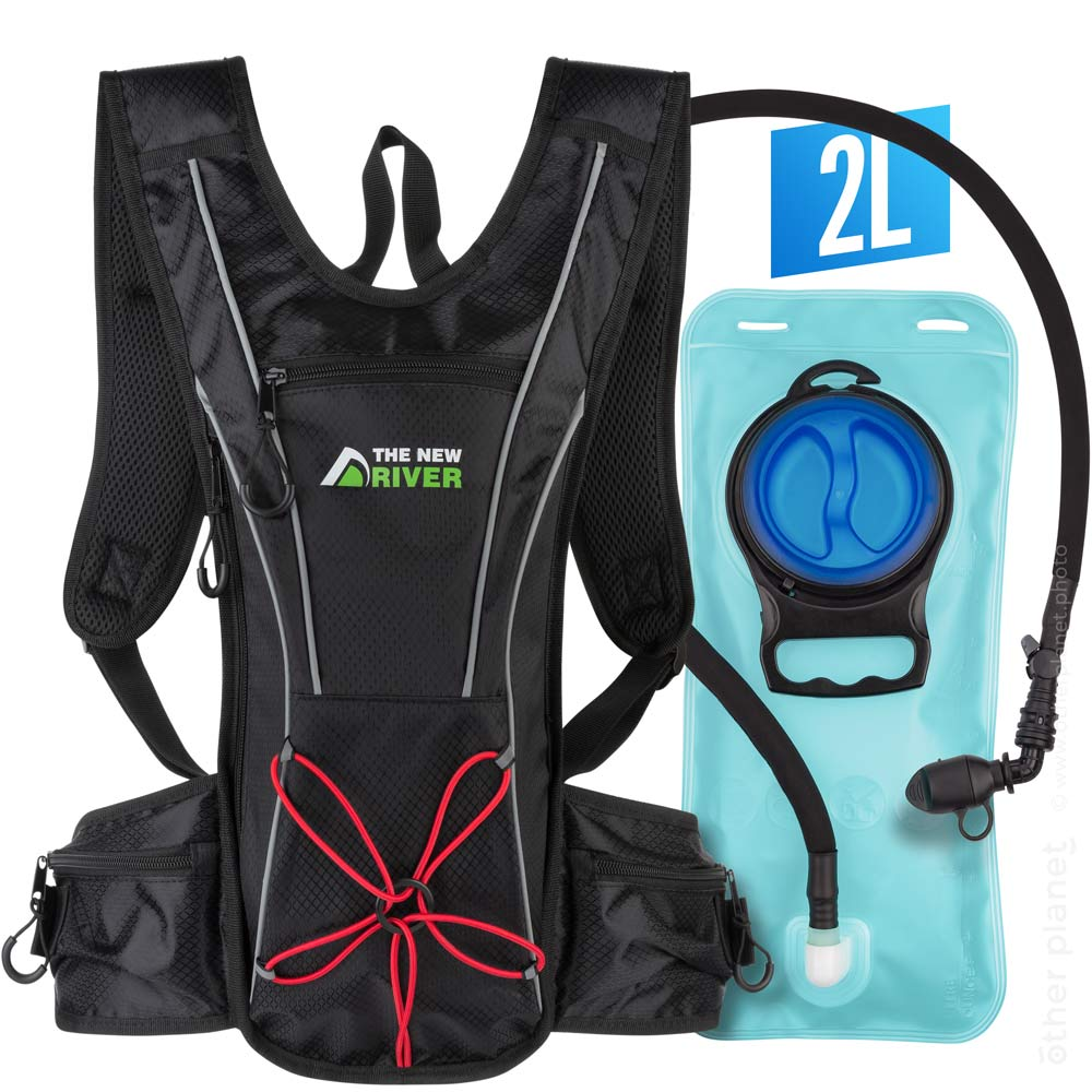 Sport backpack with water bladder main image