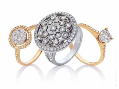 Three diamond rings and be happy with it