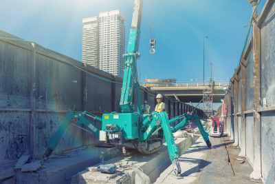 Transformer green crane