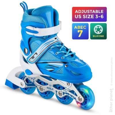 Amazon main product image of inline skate on white background