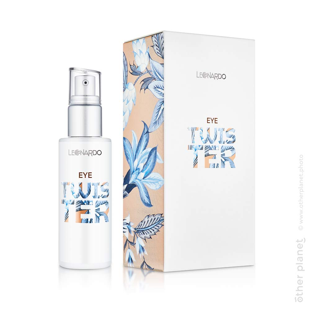 Cosmetics packshot with the box for Leonardo