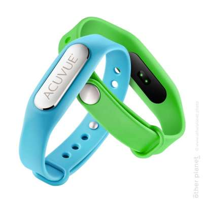 Fitness Trackers photo pair on white background