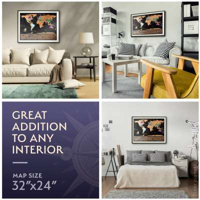 Map in different interiors and sizes reference SmartImage