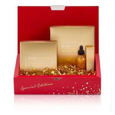 Mimi Luzon Cosmetics photography packshot Christmas Gift Kit