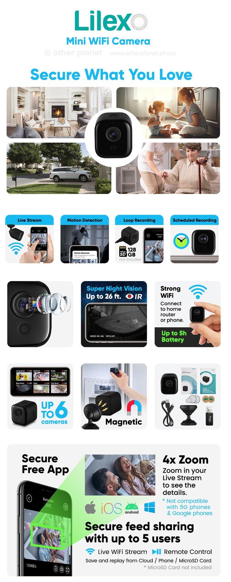 amazon product images for EBC for mini WiFi Camera