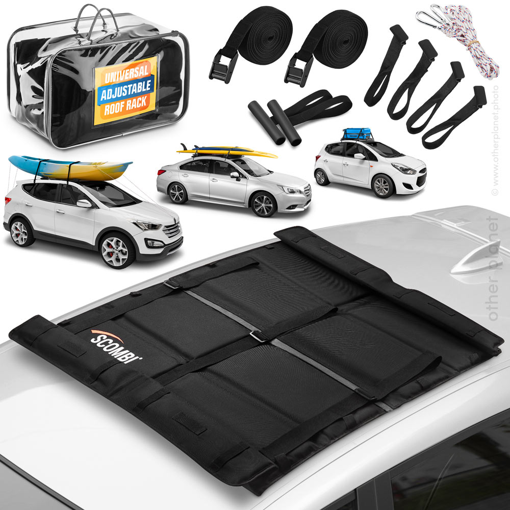 Photography on white background for Car Roof Rack sold on Amazon