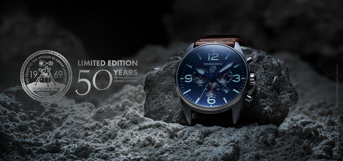 professional product advertising photography moon watch limited edition Torgoen